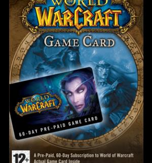 Verleng je abbonnement met deze World of Warcraft 60 dagen game time kaart