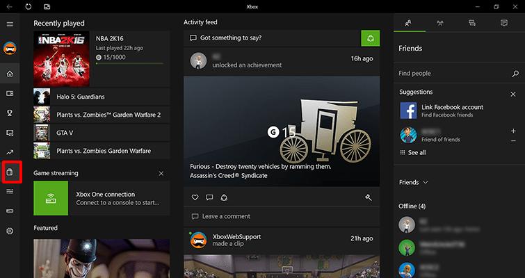 Hoe activeer ik Xbox Live via de Xbox app