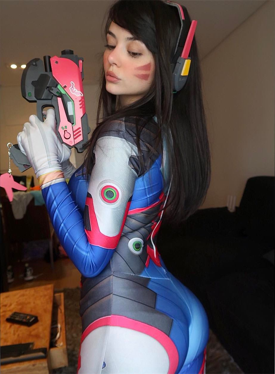 Game picdump - Overwatch DVA Cosplay