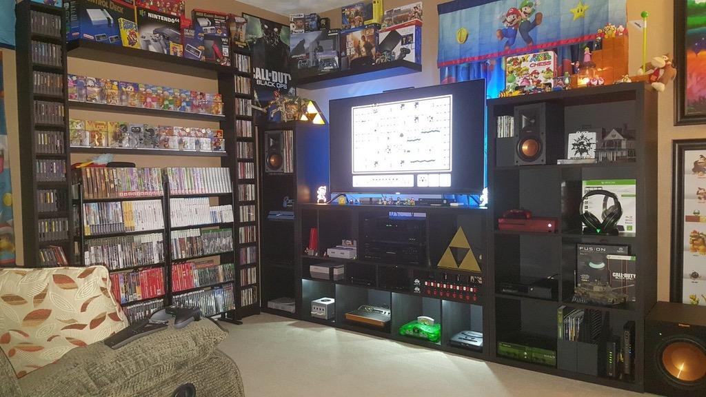 Geweldige gaming kamer set up
