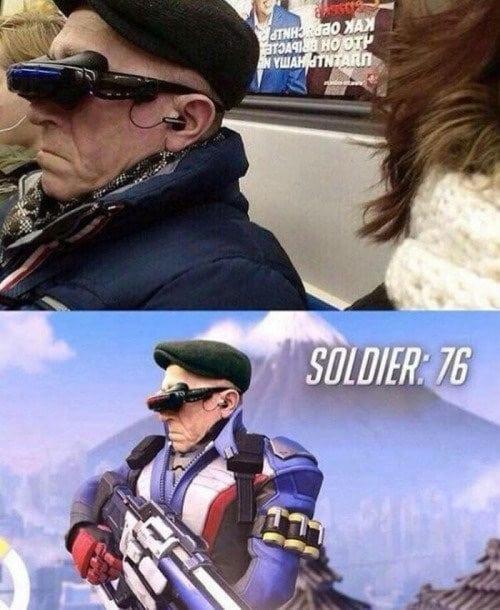 Game picdump - Solider 76 jaar oud