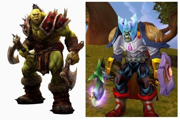 Game picdump - World of Warcraft Verwachting v.s. realiteit
