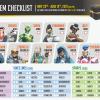 Overwatch Anniversary checklist
