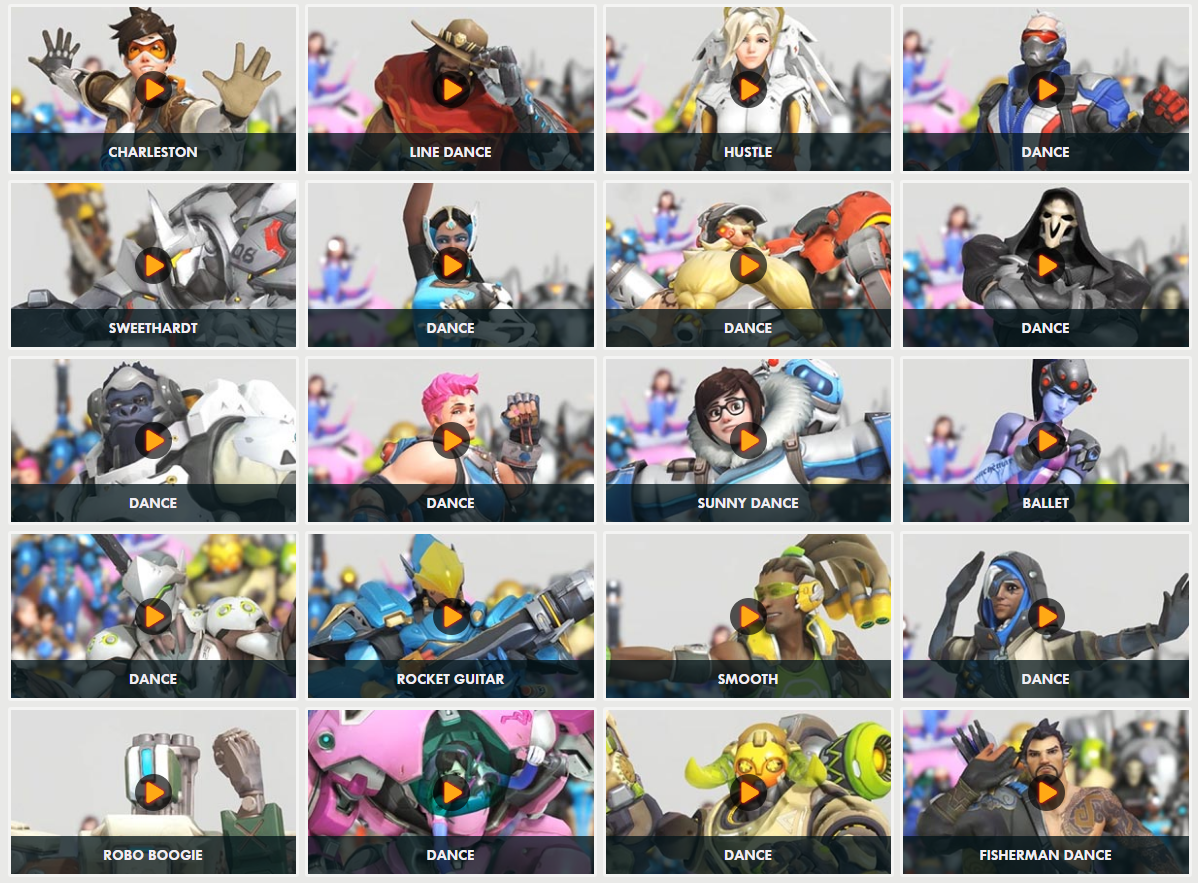Anniversary lootbox emotes