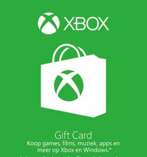 Xbox giftcard 10 euro bij Gamingpoints