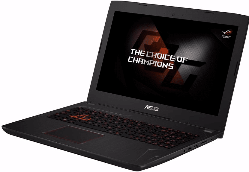 Asus FX502VM gaming laptop